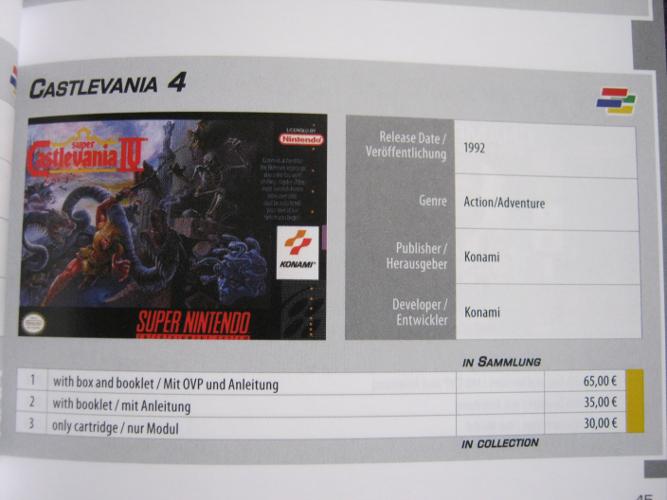 SNES Collector's Guide - Der Preisführer für eure Super Nintendo Spiele-Sammlung - 1st Edition (4/6)