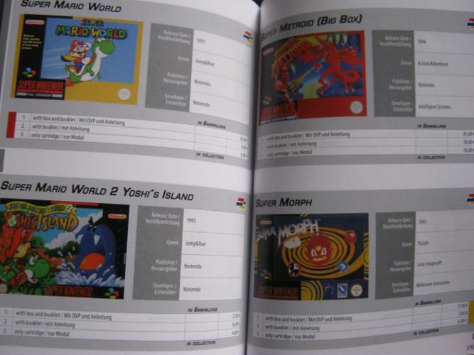 SNES Collector's Guide - Der Preisführer für eure Super Nintendo Spiele-Sammlung - 1st Edition (5/6)