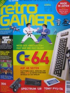 Retro Gamer Ausgabe 2 2014!